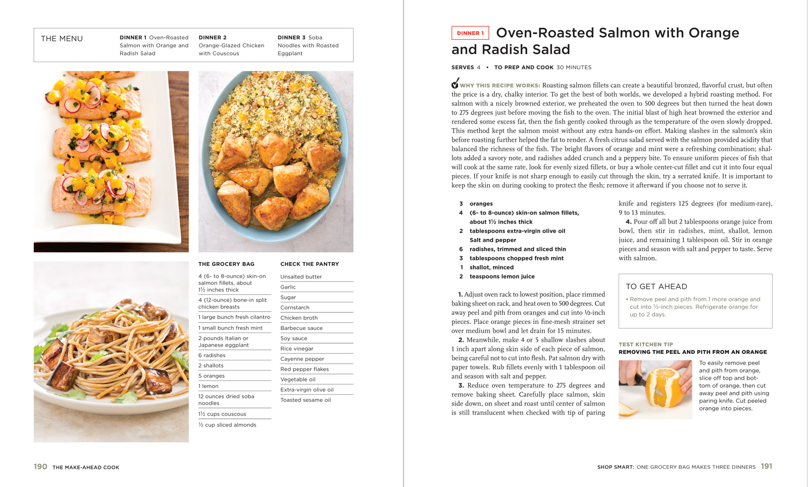 Inside the Book – The Make-Ahead Cook