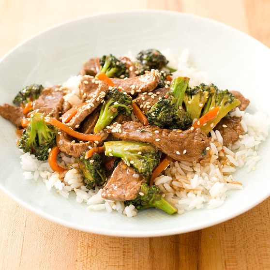 Beef and Broccoli Stir-Fry; Skillet Penne with Sausage, Sun-Dried ...