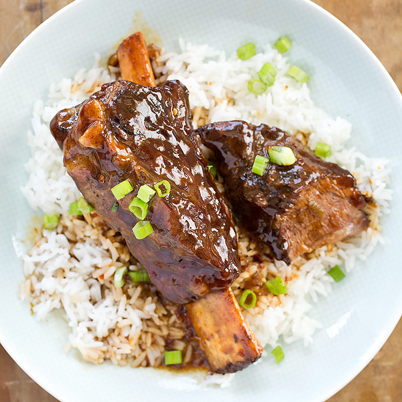 Beef short ribs recipe slow cooker asian
