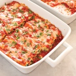Manicotti from the Freezer