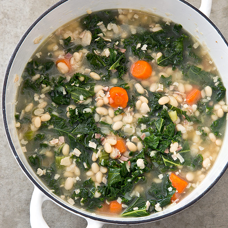 White Bean and Kale Stew – The Make-Ahead Cook